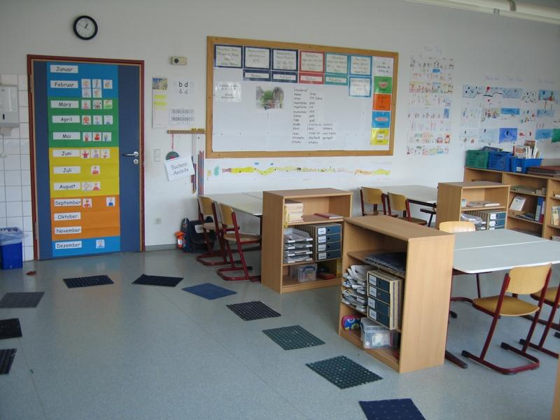 Klassenraum Klasse 2 a